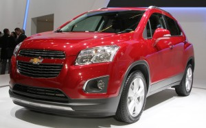 Chevrolet-Trax-front-three-quarters