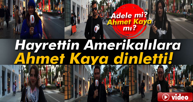 Hayrettin Amerikalılara Ahmet Kaya dinletti
